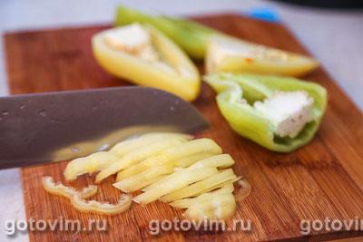 Парки лобио - стручковая фасоль с овощами, Шаг 05