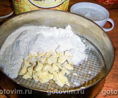 Луковый пирог с грибами , Шаг 01
