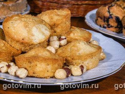 Ореховые маффины. Фотография рецепта