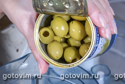 Фотографии рецепта Макароны с пастой из оливок, Шаг 03