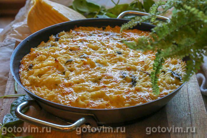 Макароны Мак энд Чиз  со шпинатом (Mac&Cheese)