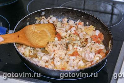 Фотографии рецепта Пенне с креветками и авокадо, Шаг 03
