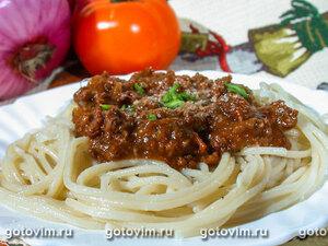 Спагетти с соусом суго