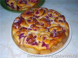 Малиновый пирог  «Сестричкин»