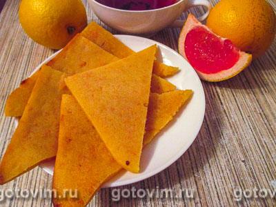 Манник с грейпфрутом. Фотография рецепта