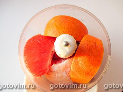 Манник с грейпфрутом, Шаг 03
