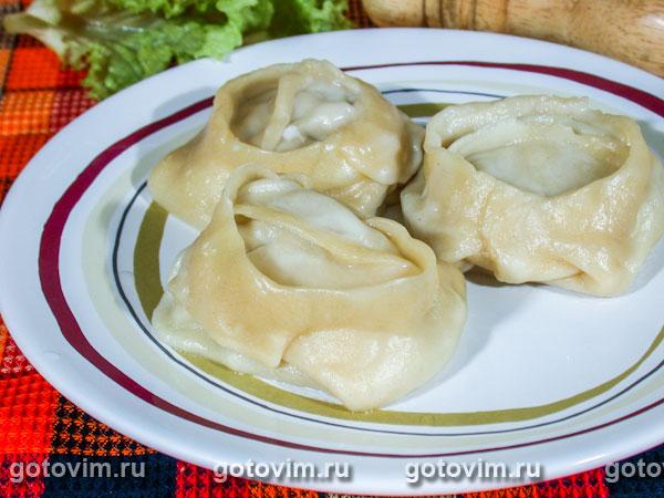 фото мантов Начинка баранины рецепт с для из