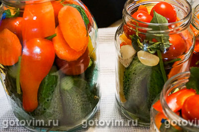 Ассорти из маринованных овощей, Шаг 06