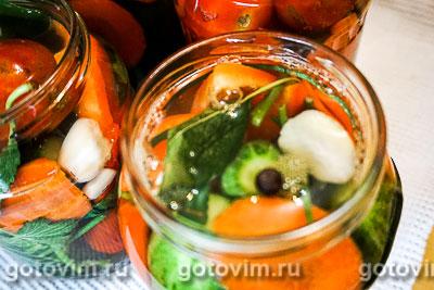 Ассорти из маринованных овощей, Шаг 07
