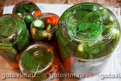 Ассорти из маринованных овощей, Шаг 11