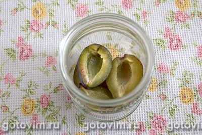 Маринованные помидоры со сливами, Шаг 02