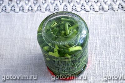 консервированные стрелки чеснока рецепт приготовления