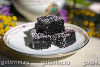 Фотография рецепта Мармелад из черники