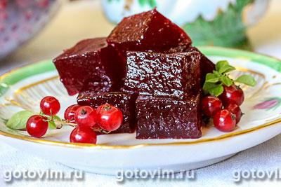 Мармелад из красной смородины. Фотография рецепта