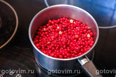 Мармелад из красной смородины, Шаг 01