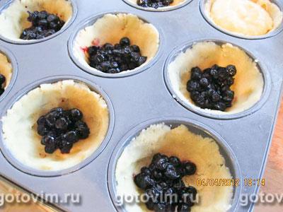 Масарини с черникой (Mazarin Cakes), Шаг 02