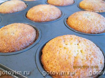 Масарини с черникой (Mazarin Cakes), Шаг 04