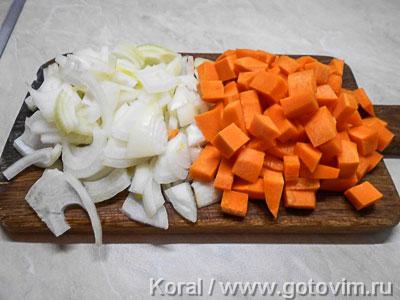 Машкичири (каша из маша и риса с мясом по-узбекски), Шаг 01