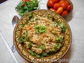 Машкичири (каша из маша и риса с мясом по-узбекски)