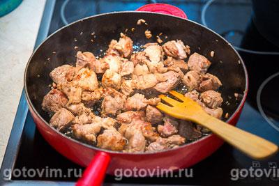 Мясо с гранатом рецепт