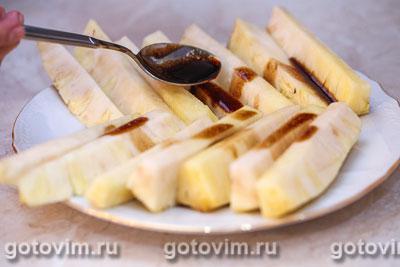 Свиной окорок с жареными ананасами, Шаг 04