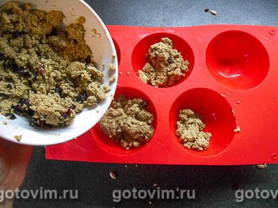 Домашняя халва с медом и клюквой, Шаг 05