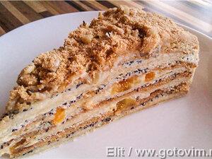 Торт медовый Наполеон