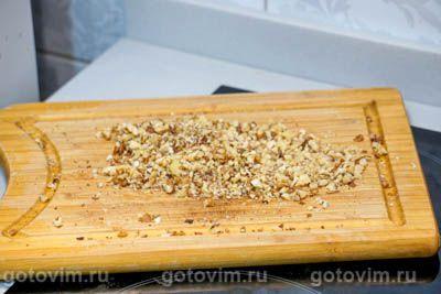 Коврижка медовая с грецкими орехами