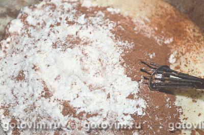 Торт медовик шоколадный, Шаг 03