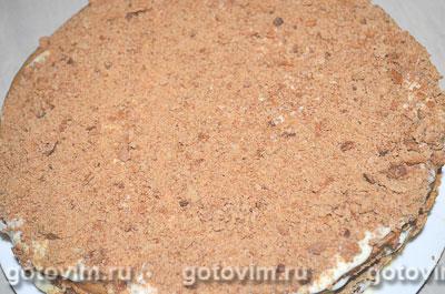 Торт медовик шоколадный, Шаг 07