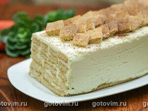 Торт Медовое полено