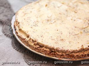 Шведский миндальный торт с масляным кремом