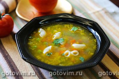 Фотография рецепта Минестроне с макаронами