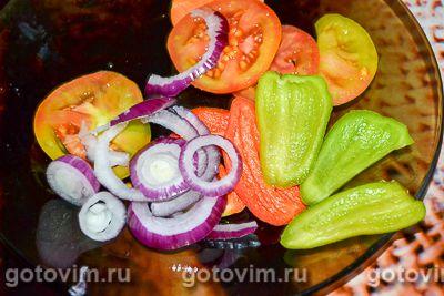 Минтай с овощами, Шаг 02