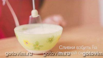 Кофе мокко с шоколадом, корицей и взбитыми сливками, Шаг 07