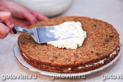 морковный торт с сливочным сыром рецепт