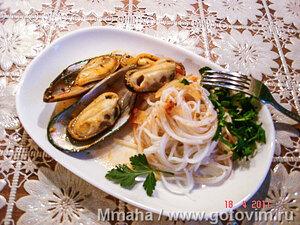 Мидии по-провански (Moules a la provencale)