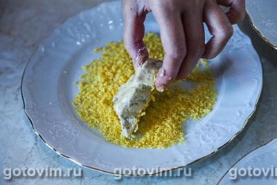 Закуска из телячьих мозгов в сухарях, Шаг 06