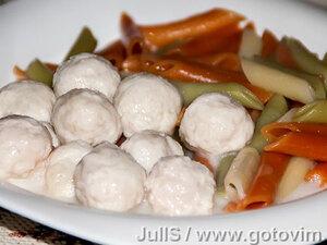 Мясные фрикадельки в соусе (для диет № 1, 5)