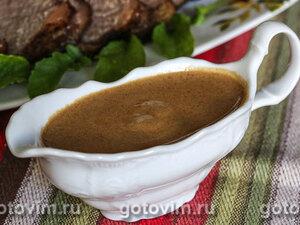 Коньячно-сливочный соус к мясу