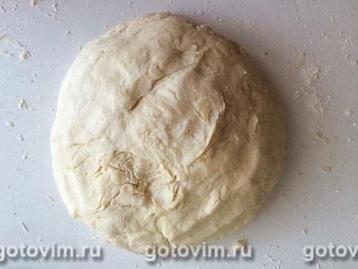 Губадия с мясом, творогом и изюмом, Шаг 02