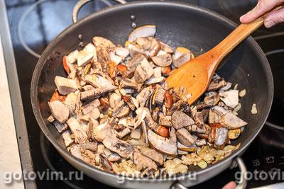 Свинина с грибным соусом с мадерой, Шаг 04
