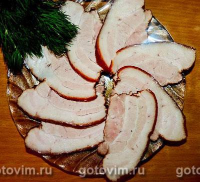 Мясо в луковой шелухе. Фотография рецепта
