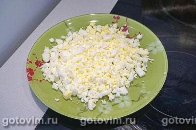 Мясные зразы с яйцом и луком, Шаг 02