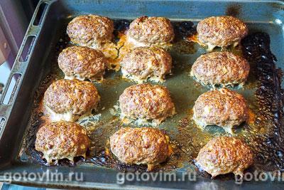 Мясные зразы с яйцом и луком, Шаг 07