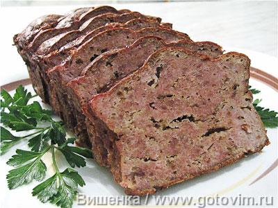 Мясной хлеб. Фотография рецепта