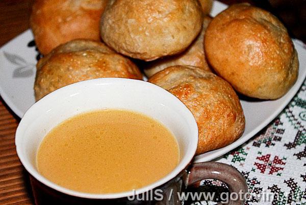 Ногоон сай (Бурятский чай). Фотография рецепта