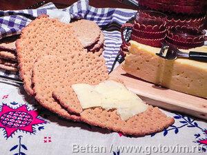 Норрландские хлебцы (Norrländska hällakakor)