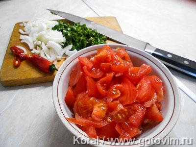 Нухат шурпа (мясной суп с горохом), Шаг 04