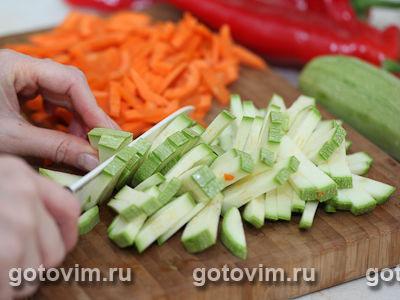 Ньокки с овощами, Шаг 01